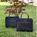 Дамска чанта от еко кожа в тъмно син цвят-1165