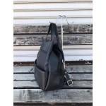 Черна дамска чанта-раница от еко кожа-1392-1