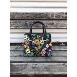 Дамска чанта от еко кожа в свежи цветове-1414-5