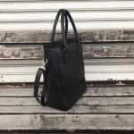 Дамска ежедневна чанта в черно-1318-A
