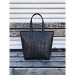 Българска дамска чанта от еко кожа в черен цвят-1492