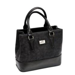 Малка дамска чанта от еко кожа в черно-180