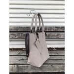 Дамска чанта от еко кожа в бежов цвят-350
