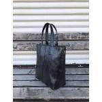 Дамска лукзона дамска чанта в черен цвят-1483