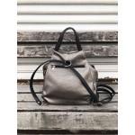 Дамска чанта от еко кожа в сив цвят-1392-2