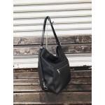 Българска дамска чанта от еко кожа в черен цвят-1501