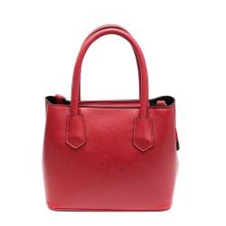 Червена дамска елегантна чанта-761