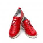 Дамски обувки пролетни от естествена кожа - 371