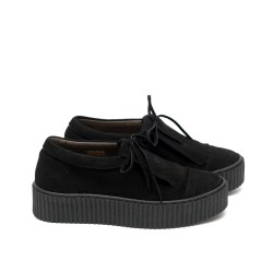 Ежедневни дамски обувки от велур-378