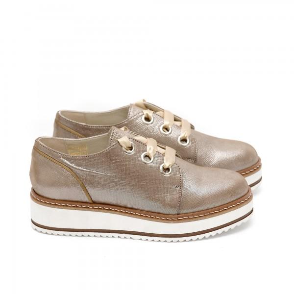 Пролетни дамски обувки от естествена кожа - 377