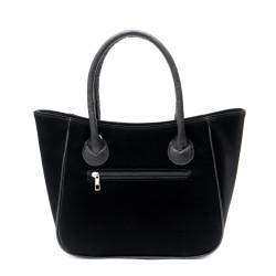 Дамска чанта от еко кожа в чевен цвят-1678