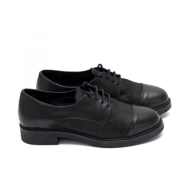 Дамски обувки от естествена кожа -163