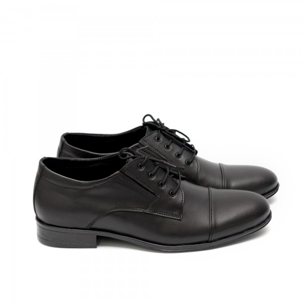 Мъжки елегантни обувки от естествена кожа - 62