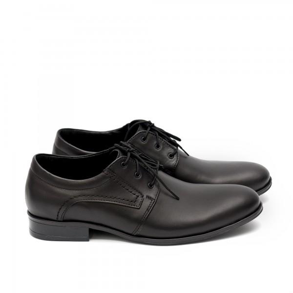 Мъжки елегантни  обувки от естествена кожа - 405