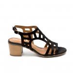 Дамски сандали от естествена кожа-421
