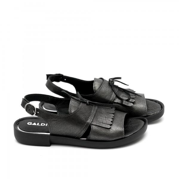 Дамски сандали от естествена кожа-469