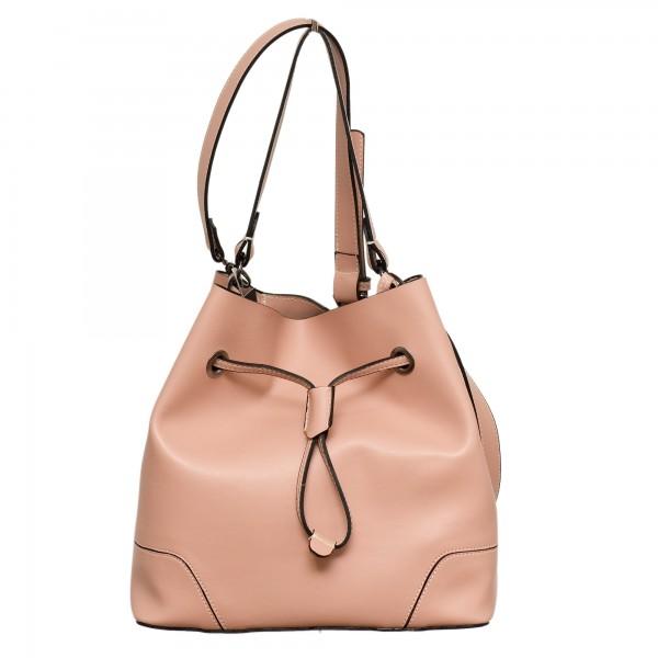 Дамска чанта еко кожа розова- 135
