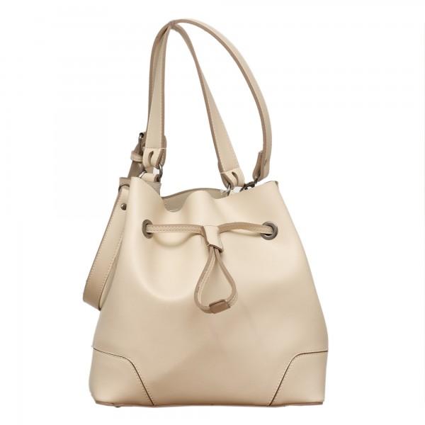 Дамска ежедневна чанта бежова-135