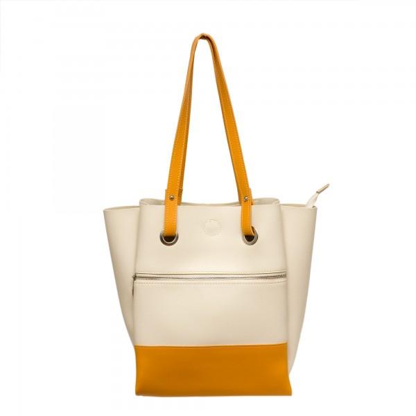 Дамска ежедневна чанта от еко кожа-349