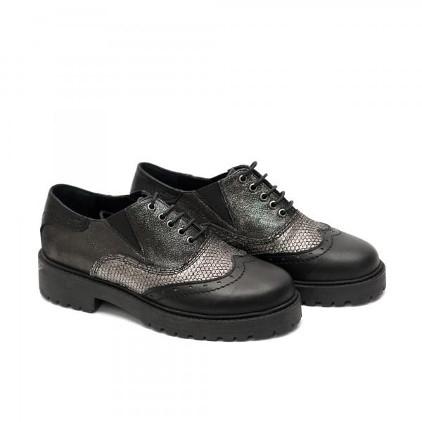 Дамски спортно елегантни  обувки от естествена кожа-526