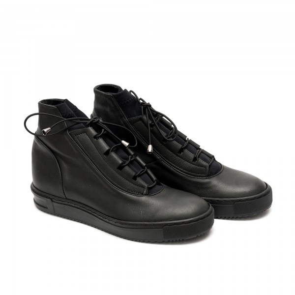 Дамски спортно елегантни обувки от естествена кожа-518