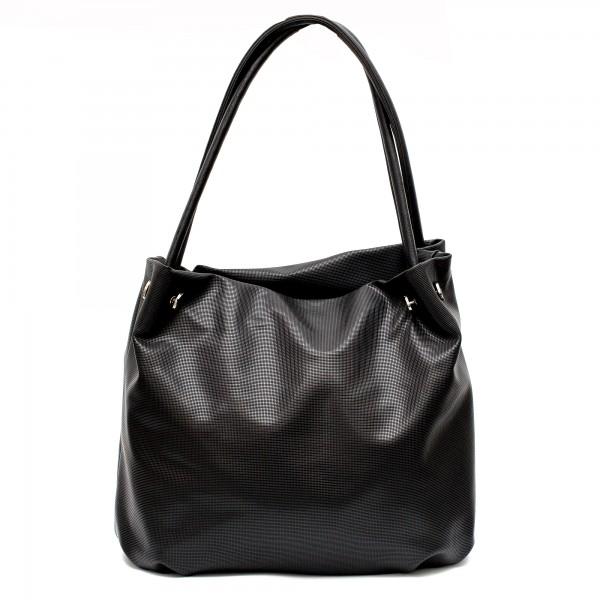 Българска дамска чанта от еко кожа в черен цвят-103