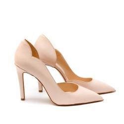 Дамски елегантни  обувки от естествена кожа - 156