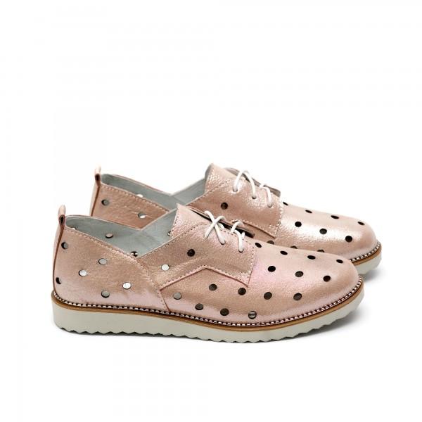 Дамски обувки от естествена кожа-220